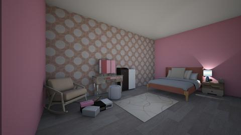 Paris Apartment - Glamour - Bedroom  - by 67573