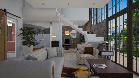 The dream home - Eclectic - Living room  - by Tree Nut