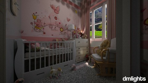M baby - Kids room  - by DMLights-user-1297110