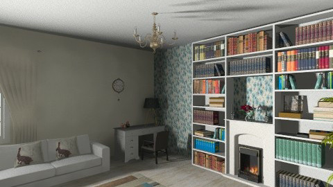room - Masculine - Living room - by elnor