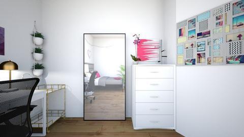 Uni room - Bedroom  - by marygefter