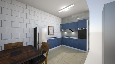 cozinha 1 black - Kitchen  - by brunosn6