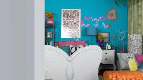 Bedroom 1 - Eclectic - Bedroom  - by laruue