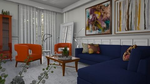 Amagansett - Eclectic - Living room  - by LuzMa HL