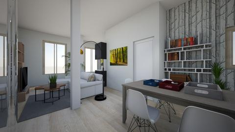 salon eskalantegui 5 - Living room - by martaglop