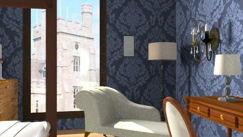 Kathryn Merteuil Dormroom - Classic - Bedroom  - by Lenii