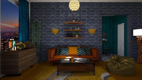 o r a n g e   c a r p e t - Living room  - by deleted_1566988695_Saharasaraharas