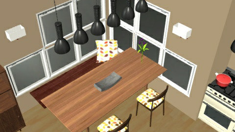 Kitchen and Dining Space - Dining Room  - by jamo0oni
