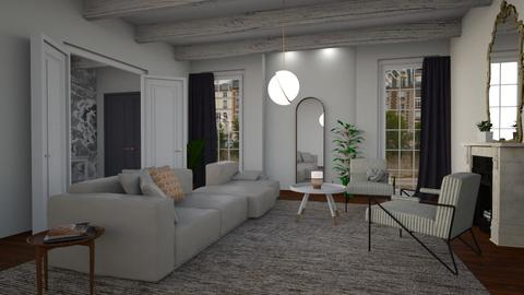 Manhattan  - Classic - Living room  - by tolo13lolo