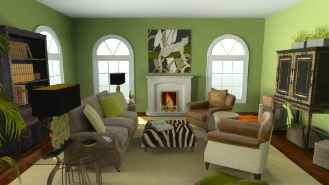 Study 1 - Classic - Living room  - by Patti58