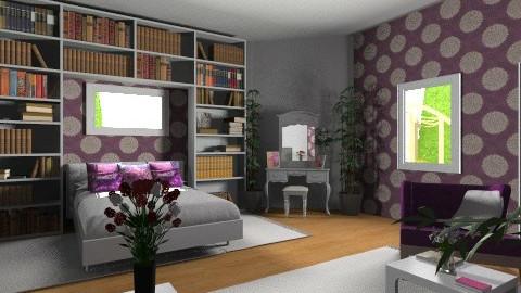 Adi bedroom - Modern - Bedroom  - by eszti