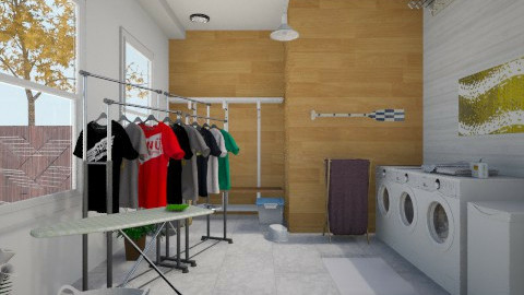 Laundry Room - Classic - Garden  - by yourjieee