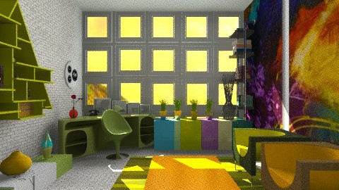 Nondepressive office - Eclectic - Office - by Karenina
