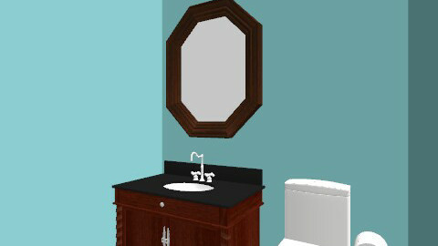 bath 3 - Classic - Bathroom  - by Bailey Hvezda
