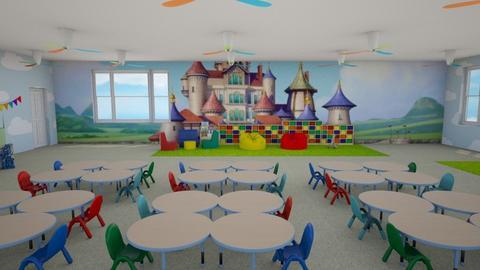 Gradinita - Kids room  - by alionauntila