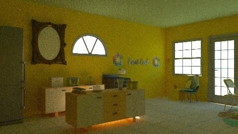 Yellow & Green Kitchen - Kitchen - by iwoolnough