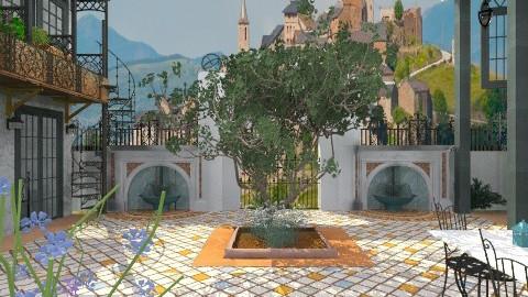 Spanish Gallery - Classic - Garden  - by tjellybean