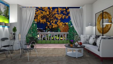 sofa and Home  - by prasad wijesinghe