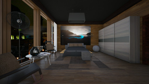 bedroom - Modern - Living room  - by Evangeline_The_Unicorn