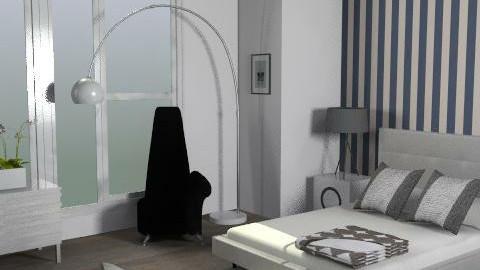 Mono Room - Minimal - Bedroom  - by FranklyDear