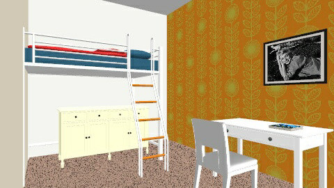Isobels room design - Vintage - Bedroom  - by bubblyminty