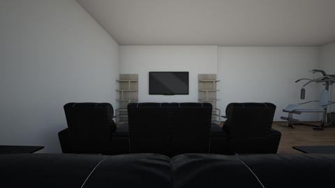 basement_theater chairs - by sdmark