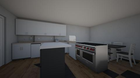 zebs kitchen g - Modern - by house builder 47