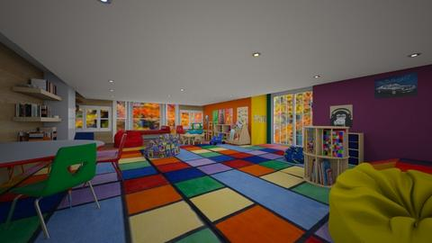 School library - by Elliott Ray