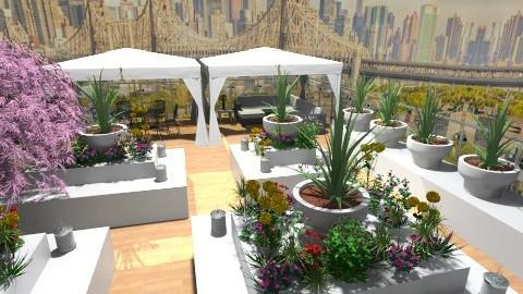 Rooftop Garden - Garden  - by MeeraPatel357