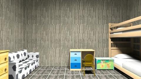 aj floor design1 - Classic - Kids room  - by arun joshy