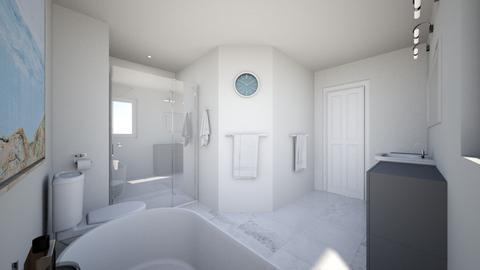 Spences Way Master Bath - Bathroom  - by meganprzada