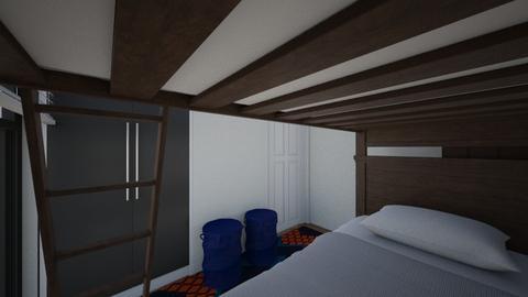 Twins Cramped Room 2 - Bedroom  - by SammyJPili