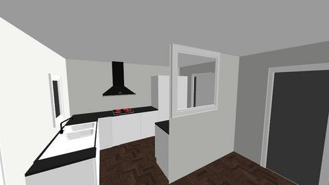 Nya koket - Kitchen  - by Stenbaeck