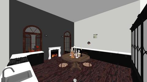 Tudor - Dining room - by Bear3
