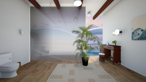 Simple Tropical Bathroom - Bathroom  - by noadesign