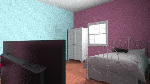 my future bedroom  - Glamour - Bedroom  - by Saighdeoir_Art