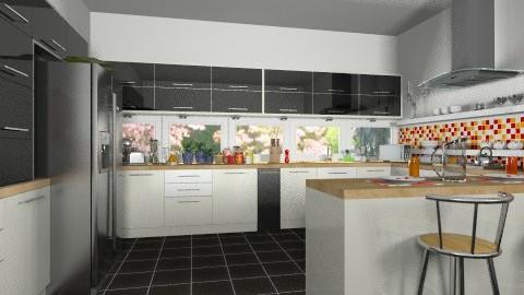kitchen dream  - Modern - Kitchen  - by Maria_Julia