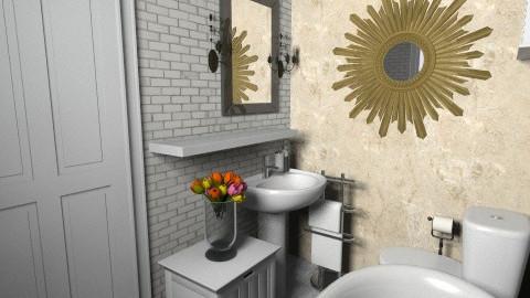 Miller Small Guest Bath - Eclectic - Bathroom  - by anetzham