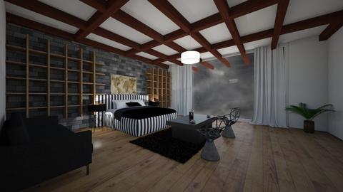 Raining - Living room  - by gamewiner