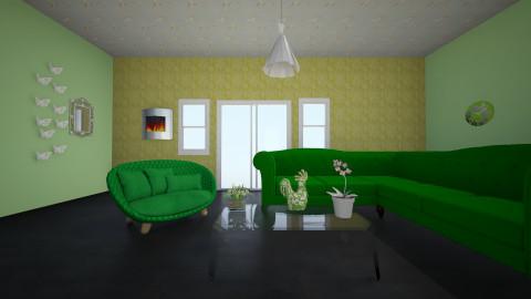 Earth Tones - Modern - Living room - by mathusha2020
