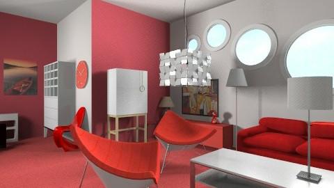 Living in Plastic - Minimal - Living room  - by unglued
