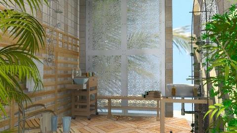 Outdoor Shower - Classic - Garden  - by Bibiche