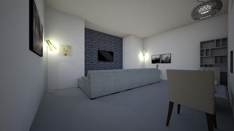 project 1 - Living room  - by ngonzalez