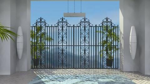 private courtyard - by wajiyh78