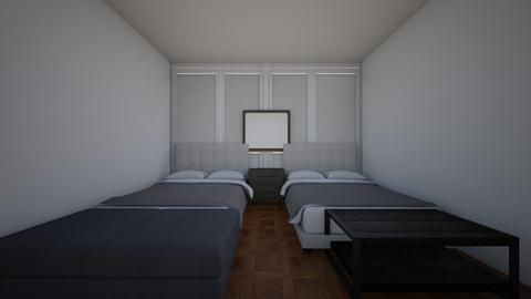 hotel room - Modern - Bedroom  - by spotlight_dream