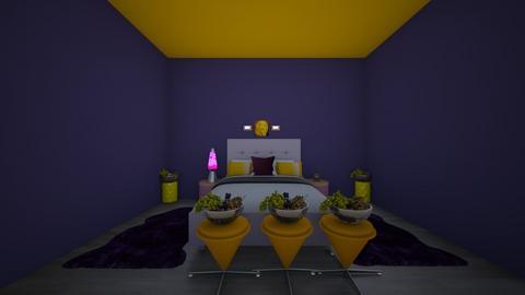 minetas room - Bedroom  - by crying_room