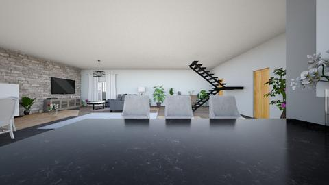 aleksandra - Living room  - by Aleksandra Kozak