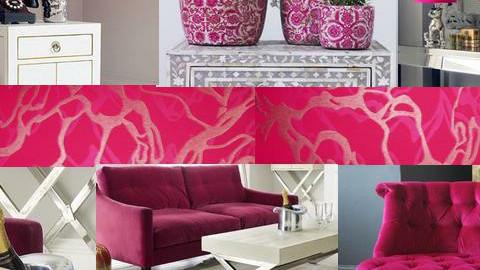Pink - Feminine - Living room - by karma kitten