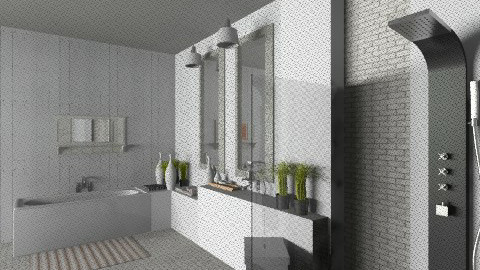 bains de reve256 - Rustic - Bathroom  - by taxiblueltd