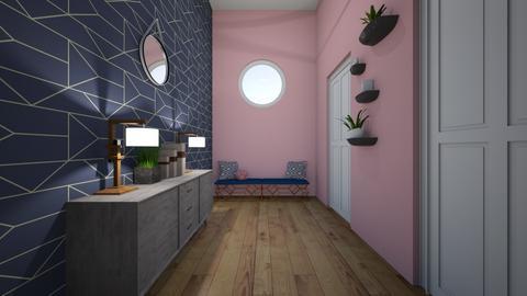 Modern Playful hallway  - Modern - by Linde Hubbard